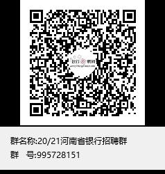 洛阳银行2021校园招聘公告咨询群